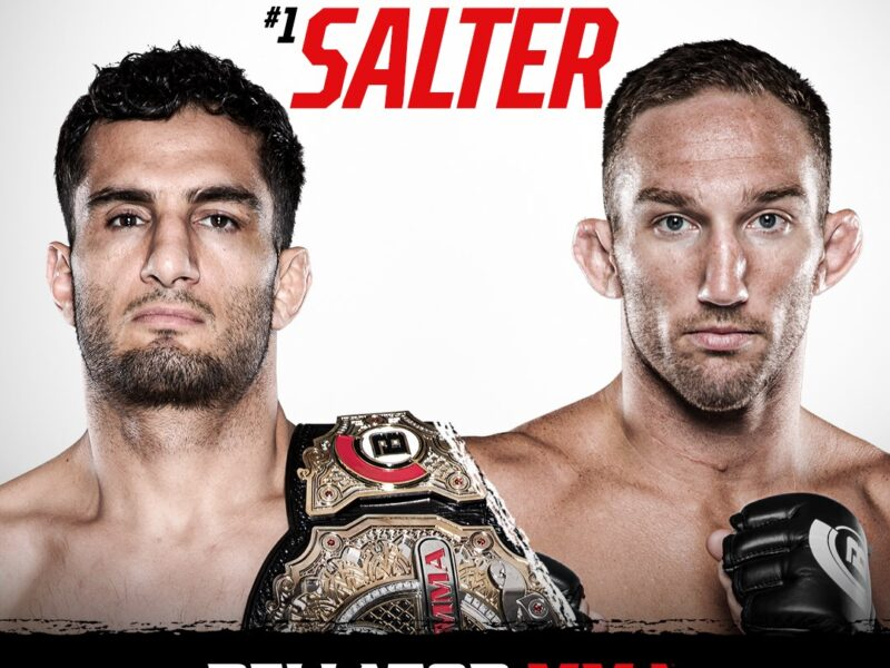 Mousasi-Salter Title Fight set for August