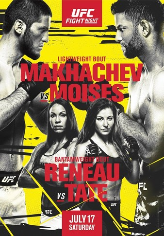 """Simply Results UFC Fight Night """"Makhachev vs. Moises"""""""