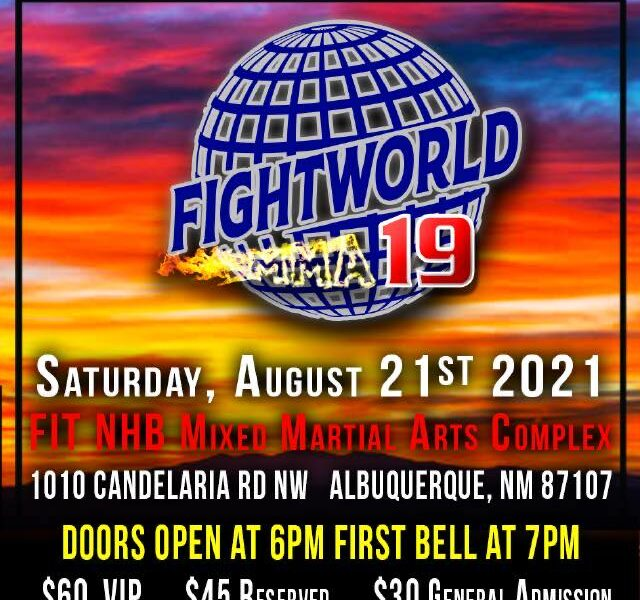 Fightworld MMA 19 Weigh-in Results