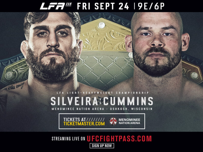 Josh Silveira gets opponent for LFA Title Fight