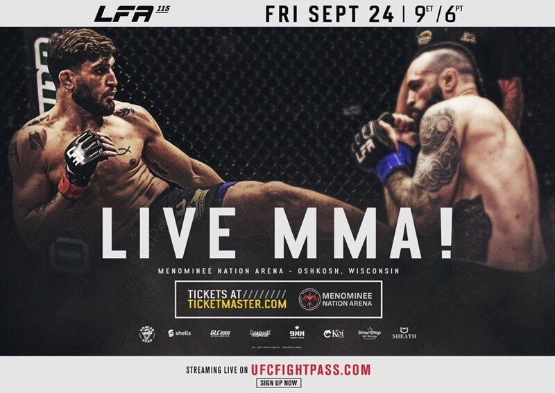 Light-Heavyweight Champion to be Crowned at LFA 115