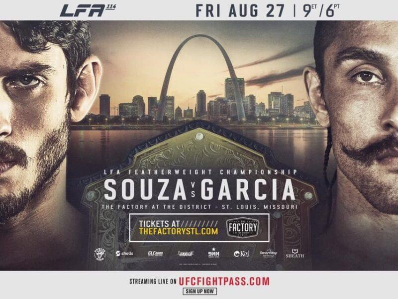 Souza vs. Garcia to battle for LFA title at LFA 114