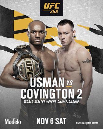 Championship Doubleheader set for UFC 268