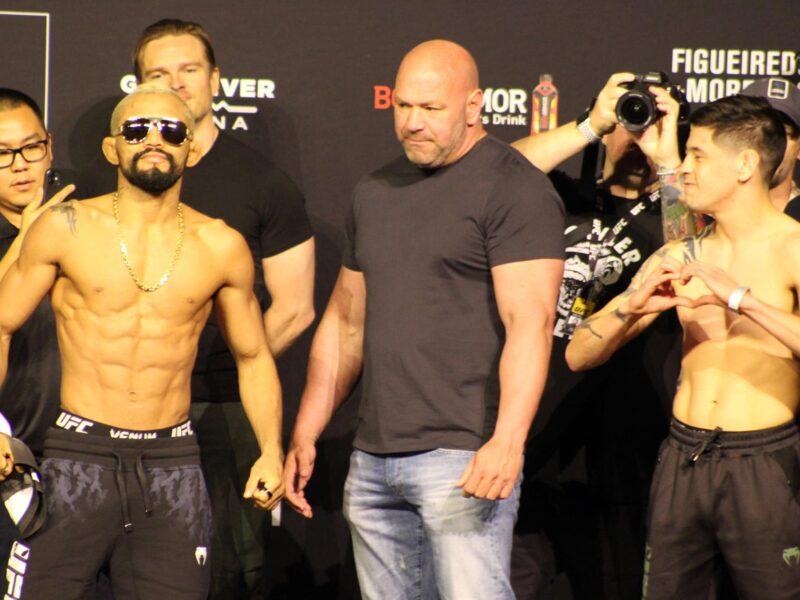 Moreno-Figueiredo Trilogy fight set for UFC 269