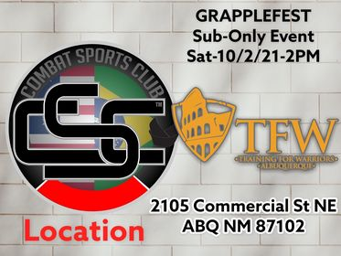 CSC Grapplefest on Tap for Oct. 2nd