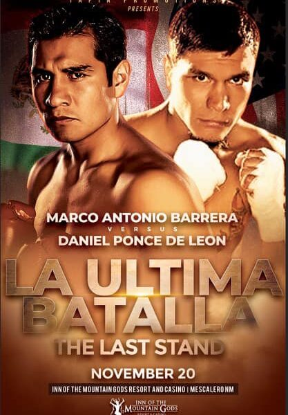 """Tapia Promotions Bringing Legends & Prospects together for """"The Last Stand"""""""