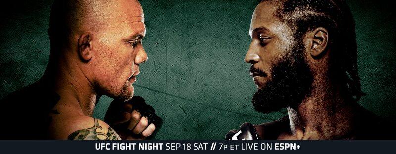 "Simply Results UFC Fight Night ""Smith vs. Spann"""