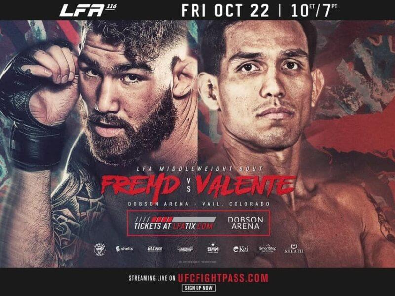 Fremd vs. Valente headlines 13-fight LFA 116