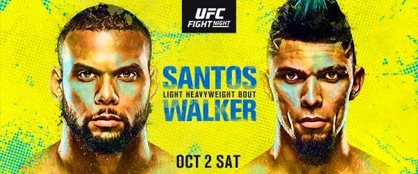 "Simply Results UFC Fight Night ""Santos vs. Walker"""