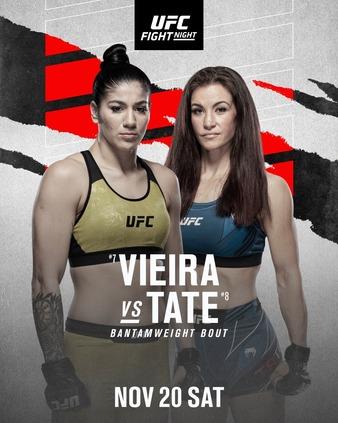Tate vs. Vieira Rebooked