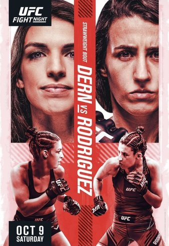 """Simply Results UFC Fight Night """"Dern vs. Rodriguez"""""""
